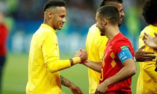 Neymar cần học thêm nhiều ở Eden Hazard - Bóng Đá
