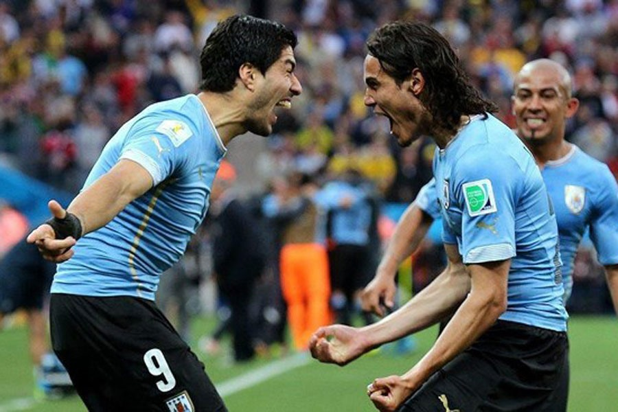 Cavavi và Suarez: Song sát khét tiếng của Uruguay - Bóng Đá