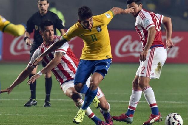 'Nỗi ám ảnh' Paraguay lại hiện về với Brazil - Bóng Đá