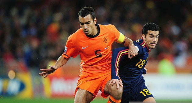 Đội hình tranh hùng với Tây Ban Nha trong trận chung kết World Cup 2010 của Hà Lan giờ ở ra sao? - Bóng Đá