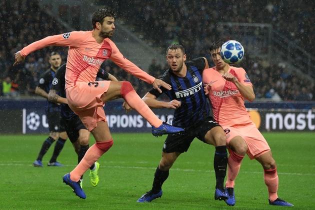 Một lần nữa 'tử thần' Barca vậy gọi Inter Milan - Bóng Đá