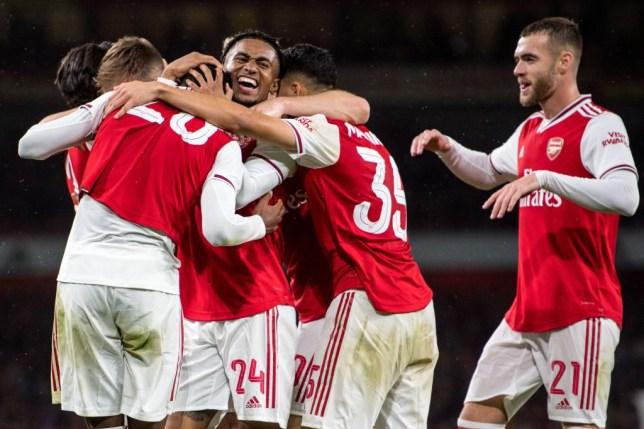 Thắng lớn ở Cúp Liên đoàn, Arsenal mơ về tương lai lật đổ Man City và Liverpool - Bóng Đá