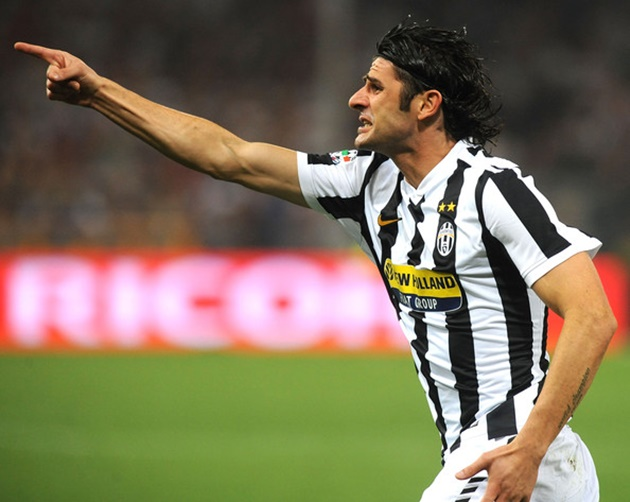 6. Vincenzo Iaquinta (18 bàn) - Đỉnh cao của tiền đạo này chính là chức vô địch World Cup 2006 trong màu áo Azzurri.
