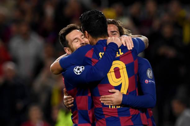 Tam tấu thay nhau tỏa sáng, Barcelona hiên ngang tiến vào vòng 1/8 - Bóng Đá