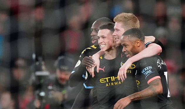 De Bruyne tỏa sáng rực rỡ, Man City hủy diệt Arsenal ngay tại Emirates - Bóng Đá