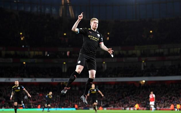 điểm Nhấn Arsenal 0 3 Man City Show Diễn Hoan Hảo Của De Bruyne Bong đa