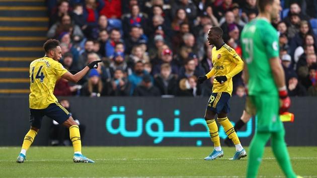 TRỰC TIẾP Crystal Palace 0-1 Arsenal: Aubameyang mở tỷ số (H1) - Bóng Đá
