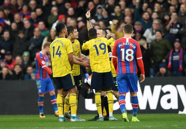 TRỰC TIẾP Crystal Palace 1-1 Arsenal: Aubameyang bị truất quyền thi đấu (H2) - Bóng Đá