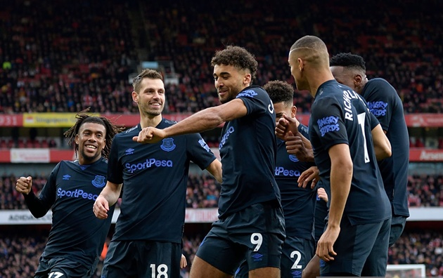 Rượt đuổi tỷ số ngoạn mục, Arsenal nghẹt thở giành 3 điểm trước Everton - Bóng Đá