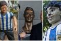 Những thảm họa điêu khắc lấy cảm hứng từ sao bóng đá