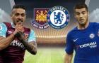 TRỰC TIẾP West Ham 0-0 Chelsea: The Blues ép sân (H1)