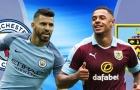 TRỰC TIẾP Man City vs Burnley: Đội hình dự kiến