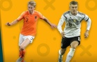 02h45 ngày 20/11, Đức vs Hà Lan: Lời chia tay ngọt ngào?