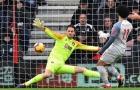 Salah bùng nổ với hattrick, Liverpool vùi dập Bournemouth trên sân khách