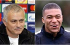 Mourinho: 'Mbappe có giá trị cao hơn Messi và Ronaldo'