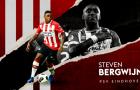 Steven Bergwijn: Vượt hành trình 600km để gây điên đảo Eredivisie