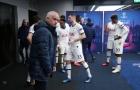SỐC! Mourinho văng tục với các học trò trong bài phát biểu