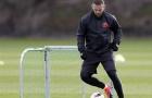 'Gã hề' Rooney trở thành tâm điểm trên sân tập của Man Utd