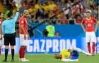 Neymar khoe ảnh sưng to sau màn triệt hạ của Thụy Sỹ