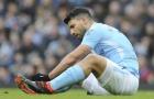 CHÍNH THỨC: Sergio Aguero nghỉ hết mùa, nguy cơ lỡ World Cup