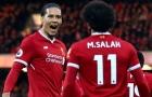 Được vinh danh, Van Dijk cùng Salah sánh ngang huyền thoại