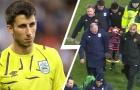 Thủ môn trẻ Liverpool may mắn thoát hiểm sau chấn thương đáng sợ