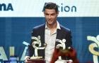 SỐC: Ronaldo đợi cả buổi trong xe, chỉ bước vào hội trường khi biết mình có giải