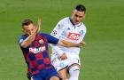 Cựu sao Real Madrid chào tạm biệt các đồng đội sau trận đấu với Barca