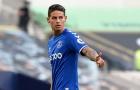 Có James Rodriguez, Everton thẳng tay loại bỏ 10 ngôi sao