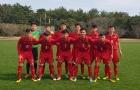 Thua U16 Indonesia, U16 Việt Nam về nhì ở giải giao hữu tại Nhật Bản