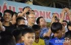 Xuân Tú, Minh Tuấn ghi điểm trong ngày HLV Park Hang-seo bị 'bao vây' ở Tam Kỳ