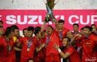 Khoảnh khắc ĐT Việt Nam nâng Cúp vô địch sau 10 năm chờ đợi