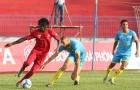 Thủ môn ĐT Việt Nam mắc sai lầm, Sanna Khánh Hòa thua trận thứ ba liên tiếp