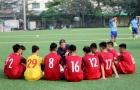 HLV Hoàng Anh Tuấn: 'U18 Việt Nam sẽ chơi theo phong cách của ĐTQG'