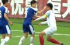 Đấm cầu thủ Trung Quốc khâu 6 mũi, đàn e Quang Hải có nguy cơ bị VFF 'treo giò'