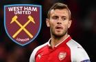 Tin vui cho West Ham: Jack Wilshere bất đồng với Arsenal