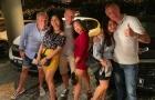 SỐC: Lộ ảnh 4 trọng tài Ngoại hạng Anh 'ăn vụng' ở Indonesia
