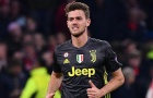 AS Roma tiến gần đến trung vệ thất sủng của Juventus