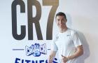 Chùm ảnh: Ronaldo khai trương phòng tập gym mang thương hiệu Cr7