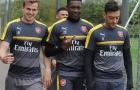 Dàn sao Arsenal rạng rỡ trước thềm đại chiến với Man City