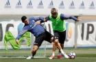 James Rodriguez trở lại tập luyện, đập tan tin đồn đến Man Utd