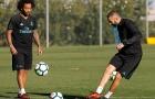 Không lên tuyển, Marcelo ở lại bầu bạn với Benzema