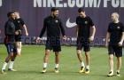 Dàn sao Barca tập luyện cật lực trước đại chiến với Atletico