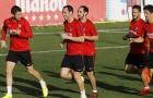 Dàn sao Atletico tràn đầy tự tin trước trận đại chiến với Barca