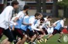 AC Milan cật lực chuẩn bị cho trận đại chiến với Juventus