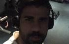 Diego Costa tập luyện cật lực dù không được ra sân
