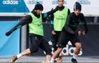 Real Madrid chuẩn bị cho trận đại chiến với Sevilla