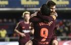 Messi và Suarez cùng nổ súng, Barca nhọc nhằn đánh bại 10 người của Villarreal