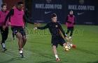 Coutinho có buổi tập đầu tiên cùng toàn đội