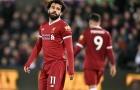 Salah 'hết phép', Liverpool thất thủ trước Thiên nga đen